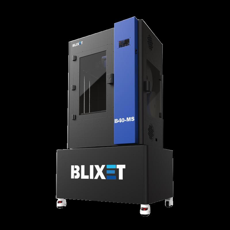 Drukarka 3D Blixet - próbki druku